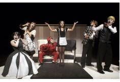 Taller de Teatro.  Dirigido por Madeleine Loayza